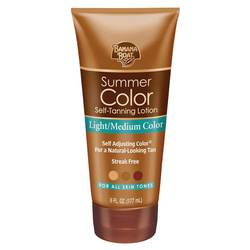 Banana Boat Summer Color Self Tanning Lotion Light to Medium