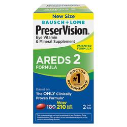 Bausch and Lomb PreserVision Areds 2