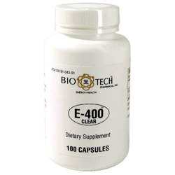 BioTech Pharmacal E-400 Clear