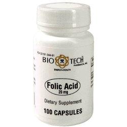 BioTech Pharmacal Folic Acid