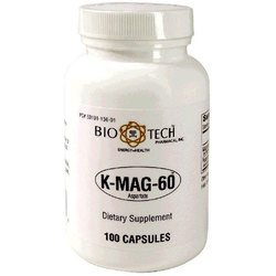 BioTech Pharmacal K-Mag-60