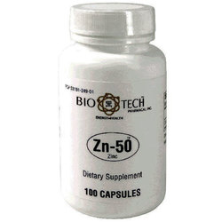BioTech Pharmacal Zn-50