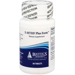 Biotics Research 5-MTHF Plus Forte 2500 mcg