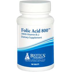 Biotics Research Folic Acid 800