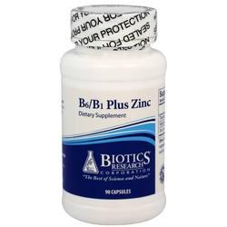 Biotics Research Corp. B6/B1 Plus Zinc