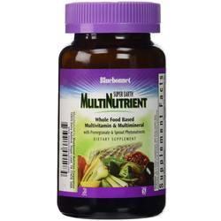 Bluebonnet Nutrition Super Earth MultiNutrient Formula with Iron