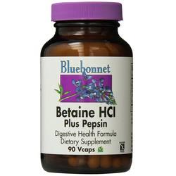 Bluebonnet Nutrition Betaine HCI Plus Pepsin