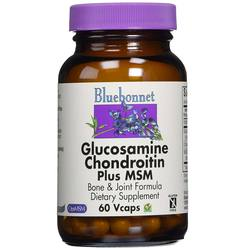 Bluebonnet Nutrition Glucosamine Chondroitin Plus MSM