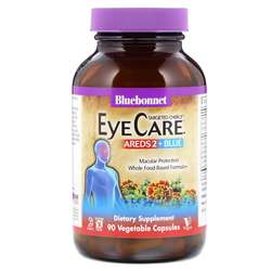 Bluebonnet Nutrition Targeted Choice EyeCare Areds 2 Plus Blue