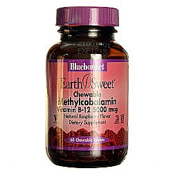 Bluebonnet Nutrition Earth Sweet Methylcobalamin Vitamin B12
