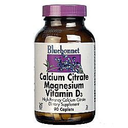 Bluebonnet Nutrition Calcium Citrate Magnesium Plus Vitamin D3
