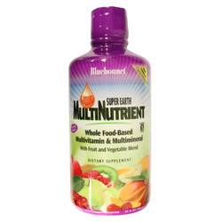 Bluebonnet Nutrition Liquid Super Earth MultiNutrient Whole Food-Based Multivitamin Multimineral