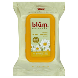 Blum Naturals Daily Cleansing Towelettes