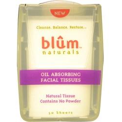 Blum Naturals Oil Absorbing Facial Tissues