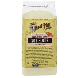 Bobs Red Mill Whole Grain Soy Flour (4 Pack)