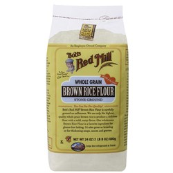 Bobs Red Mill Whole Grain Brown Rice Flour (4 Pack)