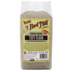 Bobs Red Mill Whole Grain Teff Flour (4 Pack)