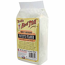 Bobs Red Mill Gluten Free Potato Flour (4 Pack)