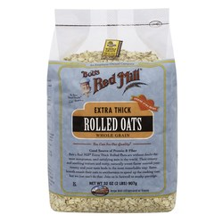 Bobs Red Mill Extra Thick Rolled Oats (4 Pack)