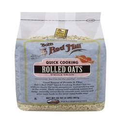 Bobs Red Mill Quick Cooking Rolled Oats (4 Pack)