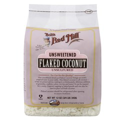 Bobs Red Mill Unsweetened Flaked Coconut (4 Pack)