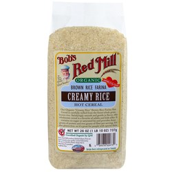 Bobs Red Mill Organic Creamy Brown Rice Hot Cereal (4 Pack)