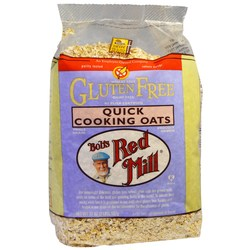 Bobs Red Mill Gluten Free Quick Cooking Oats (4 Pack)