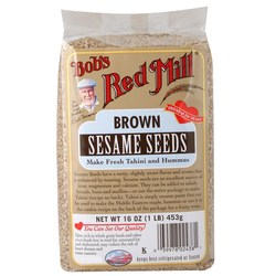 Bobs Red Mill Brown Sesame Seeds (4 Pack)
