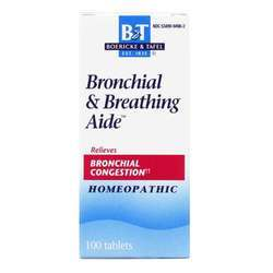 Boericke and Tafel Bronchitis and Asthma Aide Natural Homeopathic