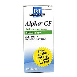 Boericke and Tafel Alpha CF Colds and Flu