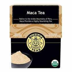 Buddha Teas Organic Herbal Tea Maca