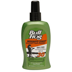 BullFrog Suncare Mosquito Coast Sunscreen with Insect Repellent Pump Spray