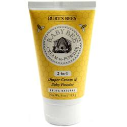 Burt's Bees Baby Bee Cream and Baby Powder