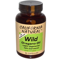 California Natural Wild Oregano Oil