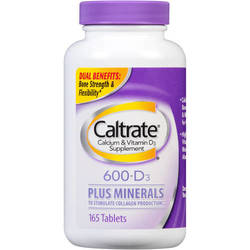 Caltrate 600+D Plus Minerals