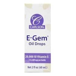Carlson Labs E-Gem Oil Drops