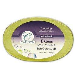 Carlson Labs E-Gems Soap Bar