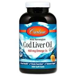 Carlson Labs Cod Liver Oil Gems
