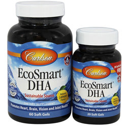 Carlson Labs EcoSmart DHA Pack