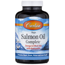 Carlson Labs Virgin Salmon Oil Complete