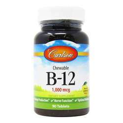 Carlson Labs Chewable B-12
