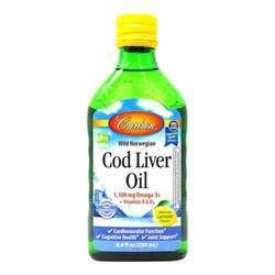 Carlson Labs Wild Norwegian Cod Liver Oil