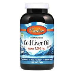 Carlson Labs Wild Norwegian Cod Liver Oil