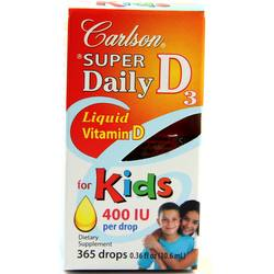 Carlson Labs Super Daily D3 For Kids