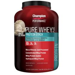 Champion Performance Pure Whey Protein Stack