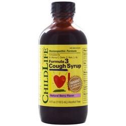 ChildLife Formula 3 Cough Syrup