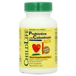 ChildLife Probiotics Plus Colostrum Powder