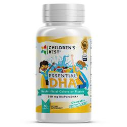 Children's Best Sugar-Free Essential DHA for Kids Non-GMO