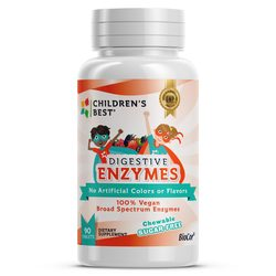 Children's Best Sugar-Free Digestive Enzymes for Kids - Vegan