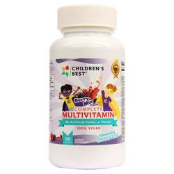 Children's Best Complete Sugar-Free Multivitamin for Kids - Non GMO- Vegan Based